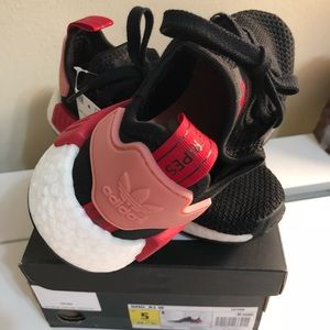 save off 9f527 2128c adidas Shoes - Adidas NMD R1 CORE BLACK  TACTILE ROSE  BOLD RED